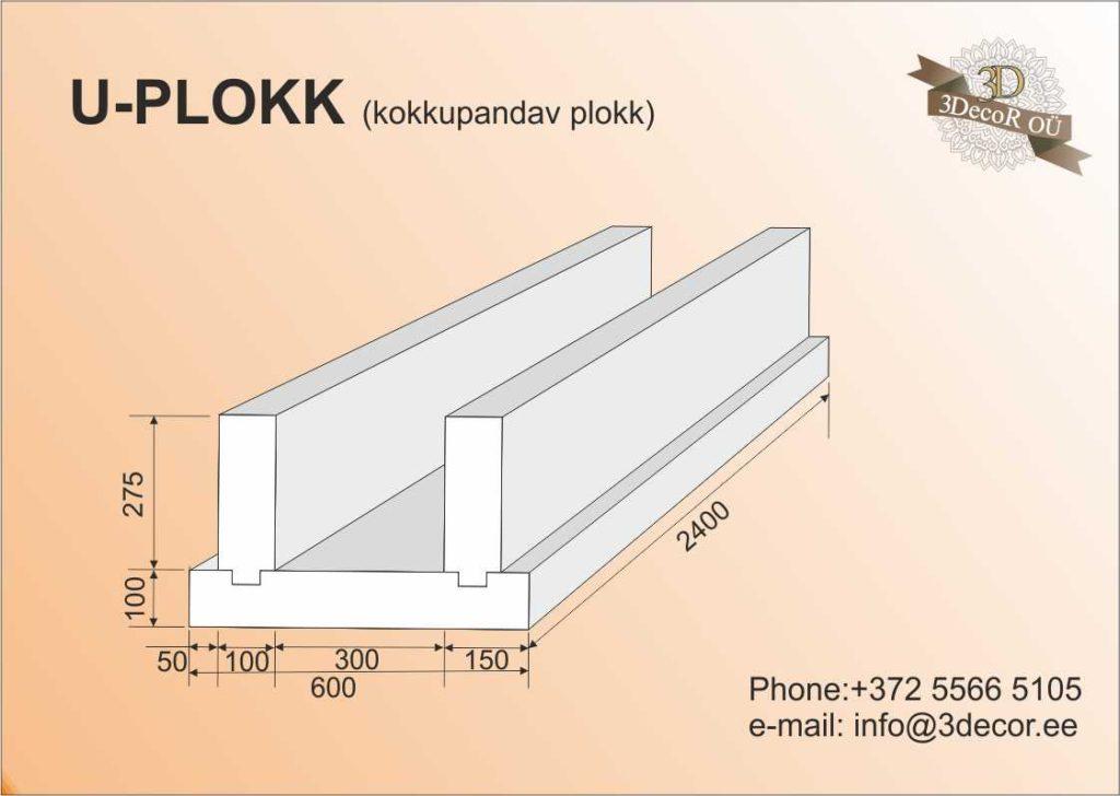 U-PLOKK (kokkupandav)